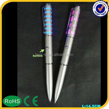 2015 christmas ornament 4 color ball pen with mechanical pencil