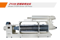 Agricultural Good Quality Easy Sovent Penetration Small Area Occupation DZY338 for Rapeseed Oil hot Press/ oil expeller