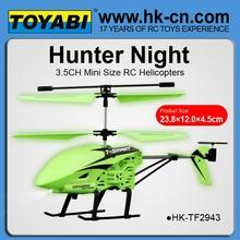helicóptero del rc de glowee toyabi
