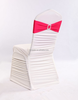 high quality new design ruffle color available chair covers/Spandex Chair Covers for weddings