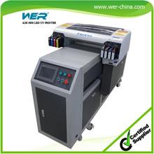 A2 uv led printer plastic card printing machine