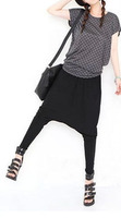 Korean Version Of The New Autumn And Winter Harem Pants Pencil Feet Low Crotch Pants 9631