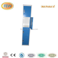 4 door blue steel electronic locks for lockers