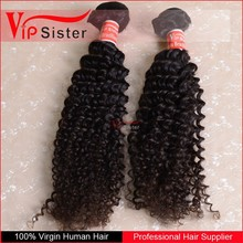 Hot Sale Brazilian Virgin Human Hair Kinky Curly Weave For Man
