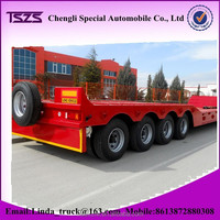 China multi-axle hydraulic truck trailer for sale