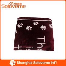 Factory Price Pet Baby Comfy Blamket Dog Super Soft Fleece Dog Product