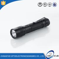 Professional Designed alumium baton telescopic flashlight
