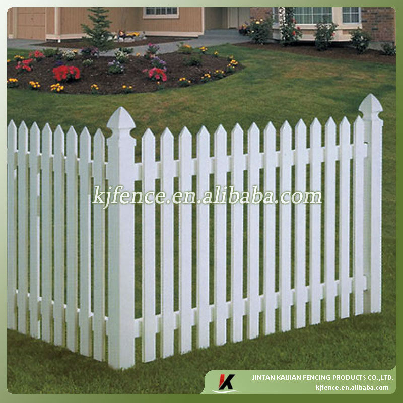 pvc white picket fence buy pvc white picket fence cheap. Black Bedroom Furniture Sets. Home Design Ideas