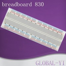 alibaba express Hot Selling !!!Breadboard 830 Point Solderless PCB Bread Board MB-102 MB102 Test Develop DIY
