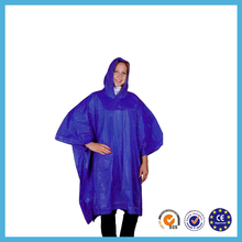2014 new arrival polyester women fashion pvc raincoat