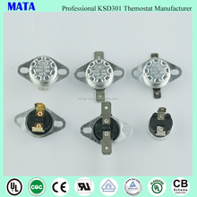 MATA ksd301 Thermal Protector 250v 16a thermostat with best quality