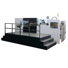 2015 fully automatic die cutting machine with stripping for cardboard corrugated board