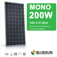 Hot Sale CE TUV sincere price cheap solar panel 200w made in china, 200w solar panel