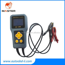 Advanced portable SC-100 Digital Battery Tester for Automobile Battery/Professional battery analyzer