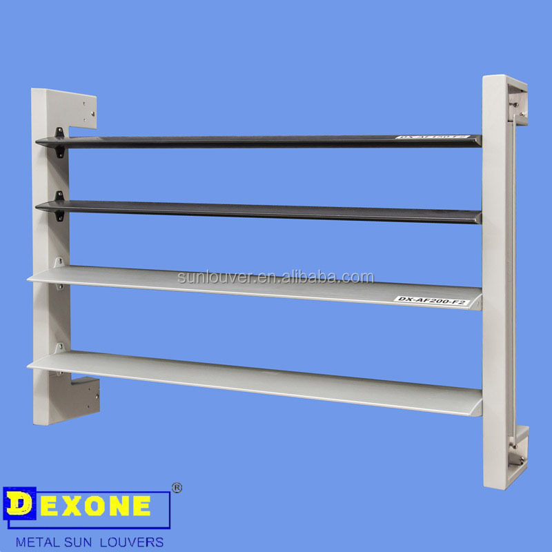 Facade Or Curtain Wall View Horizontal Louver Dexone Product Details