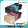 Excellent designed any color leather zipper cosmetic bag pouch
