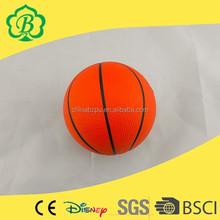 Promotion different animal soft PU toys, pu stress basketball
