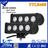 Y&T auto parts accessories 40w 2012 NEW arrival Offroad LED Light Bar auto lighting system