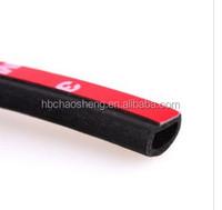 Supply car doors and Windows sealing strip / 3 m back glue type D sealing strip/automotive sealing strip
