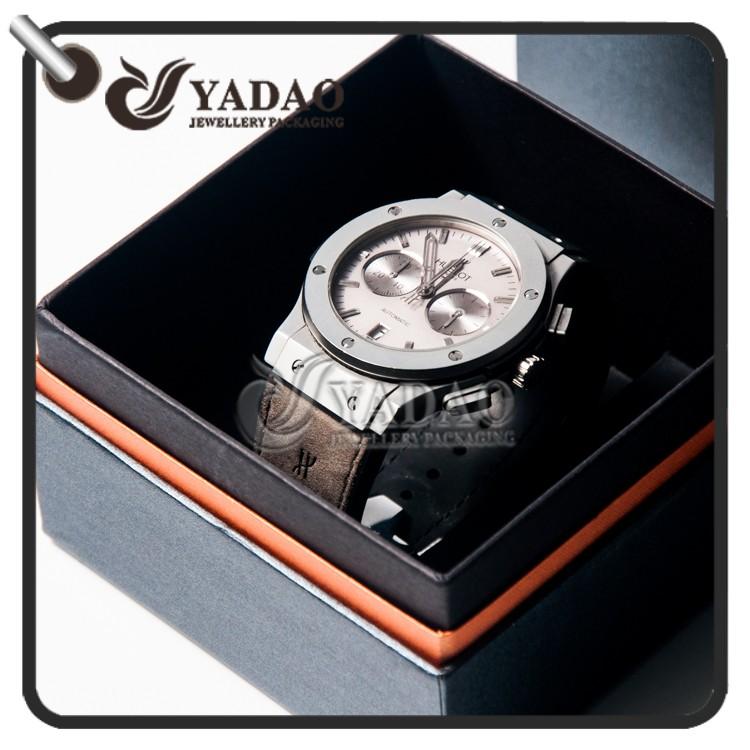 2017 novo design caixa de papel do relógio