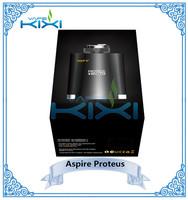 Wholesale 2015 newest Aspire Proteus E hookah 18650 battery 10ml tank micro USB charger, Aspire ecig Ehookah Proteus