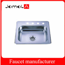 High quality stainless steel kitchen with drainer