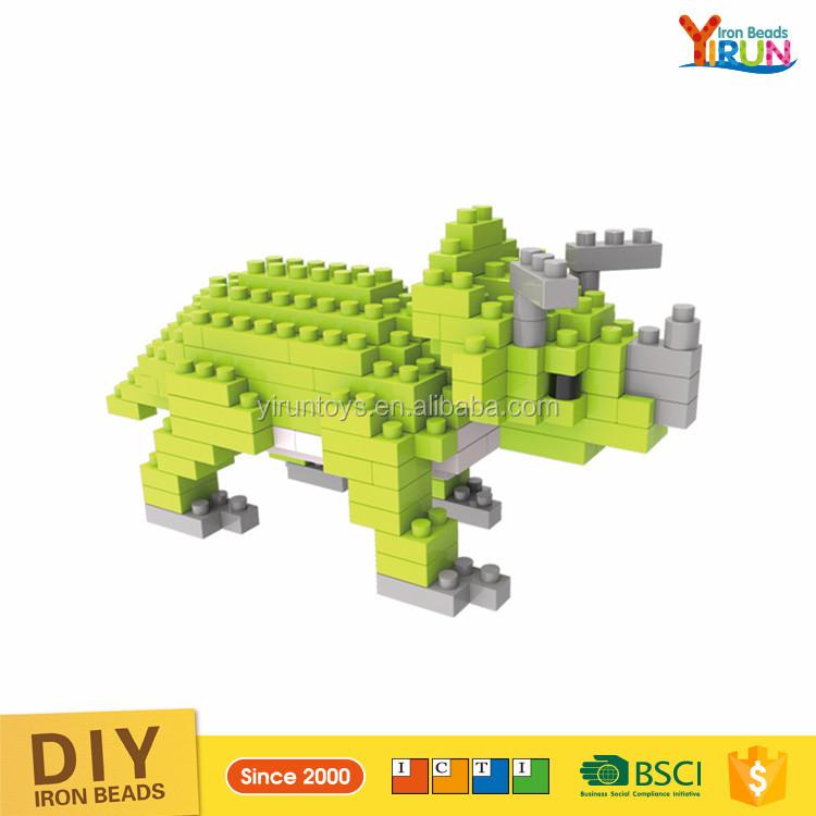 Ra mắt sản phẩm mới 2018 đồ chơi trẻ em ben 10 3D đồ chơi khủng long nano building block