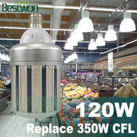 High Power Newest Design UL/CE Approval Waterproof Led Street Light 120W:5Years Warranty,Enclosed Fixture Usable