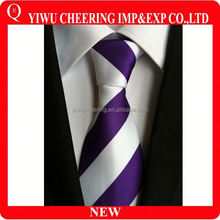 Wholesale new fashion zipper polyester tie for men