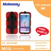 Shockproof 2015 new style silicone case for samsung s6