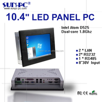 IPC/PPC support window xp,window 7 for 10 inch industrial touch panel pc,tablet pc,all-in-one pc for ATM /Kiosk using