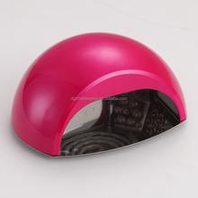 Vente chaude professionnelle 18 W double CCFL LED lampe UV pour ongles durcissement Gel ( ZS-LCL015 )