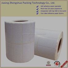 food packaged print self adhesive mirror coated paper roll
