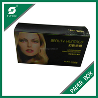 LOGISTICS PACKAGING IVORY BOARD BOX FOR HAIR EXTENSION
