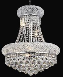 Contemporary crystal chandelier lamp distributor