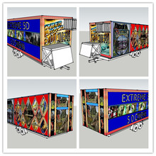 Most cheap Mantong high quality 5d cinema with trailer can move cinema for sale