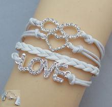 NEW Multilayer Braided Bracelet Bangles Milky Way Galaxy Cabochon InfinityCharms Wristband Cuff Leather BraceletFor Women Men