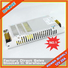 12V 20A Led Switching Power Supply Adapter Universal 240W DC 12V Voltage Converter AC to DC Transformer for Led Strip DIY New