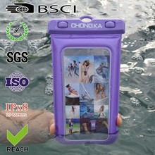 2014 hot selling pvc waterproof pouch case for nokia xl