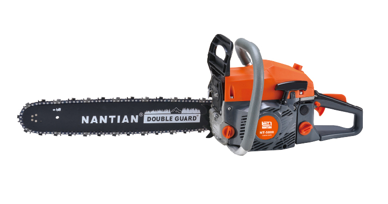 58cc Big Power Gasoline Chainsaws 22inch Bar 24 Inch Guide