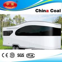 Caliente venta caravanas remolque para venta de fibra de vidrio caravanas