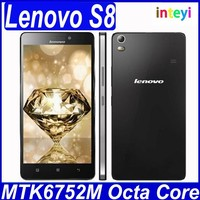 """Original Lenovo S8 A7600 4G LTE Android 5.0 Mobile Phone MTK6752m Octa Core Dual SIM 5.5""""HD 2G RAM 8G ROM 13MP In Stock"""