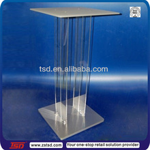 TSD-A542 perspex glass computer display table,computer display stand ,acrylic computer shop display
