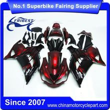 FFKKA024 Fairings For Motorcycle For ZX 10R ZX10R 2012 2013 2014 Candy Red Black
