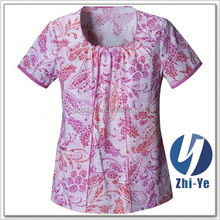 hospital scrub tops brand fashion hospital printed scrub