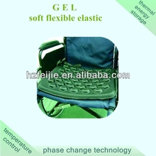 gel seat cushion for wheelchair providing shock absorption and cooling