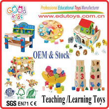 2015 Promotional Goodkids Handmade Wooden Teaching Toys Educational Wooden Toys
