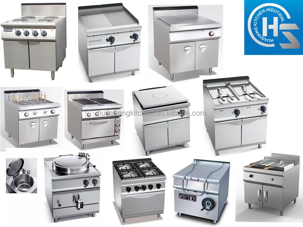 De acero inoxidable de la cocina eléctrica equipo 4- squre- placas ...