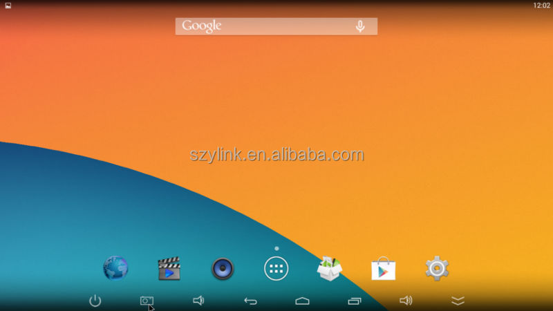 kodi installed CS918 2G RAM 8G ROM Quad core rk3188 google android tv box