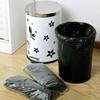 Biodegradable PE Plastic Star-sealed Trash Bag on Roll